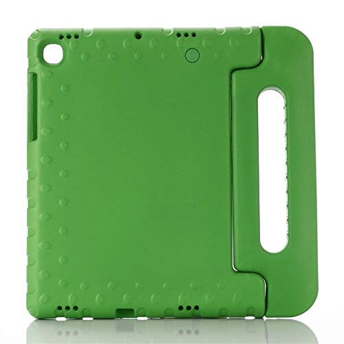 QiuKui Tab Cover For Samsung GALAXY Tab S5e T720 10.5 inch SM-T720, Tablet Shockproof Stand kids Cover For Samsung S5e SM-T725 coque (Color : Green, Size : Tab S5E SM T720)