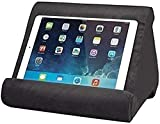 Soporte de tableta negro con bolsillo de red, almohadilla de almohada ultra multi-ángulo suave soporte de tableta soporte soporte soporte soporte Tablet cuña