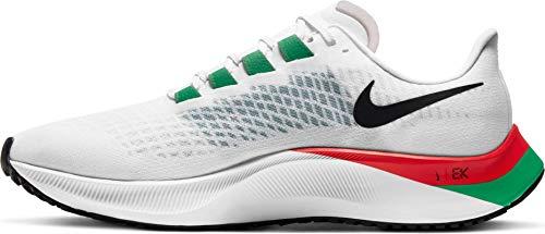 Nike Air Zoom Pegasus 37 EK Eliud Kipchoge Scarpe da corsa Sneakers DD9478 (bianco/nero-rosso Cile 100), Bianco Nero Cile Rosso, 44 EU
