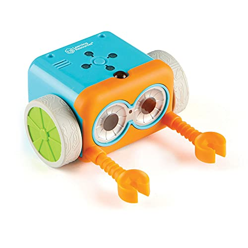 Learning Resources LER2936 Botley The Coding Robot, Coding STEM Toy, 45 Piece Coding Set, Ages 5+