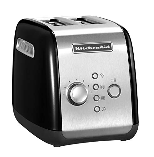 Kitchenaid 5KMT221EOB Toaster für 2 Scheiben, schwarz
