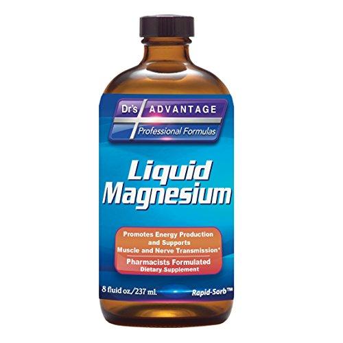Dr'S Advantage Liquid Magnesium Supplement –for Women & Men, Non-GMO, 8 Oz [Health & Beauty]