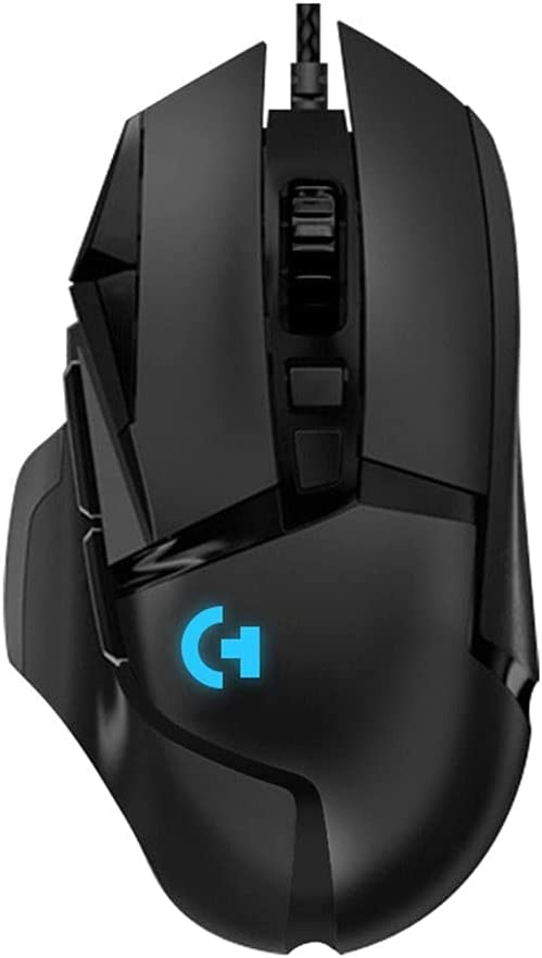 Ergonomic Wired RGB Mechanical Gaming Mouse USB LED Backlit Computer Accessories Mice