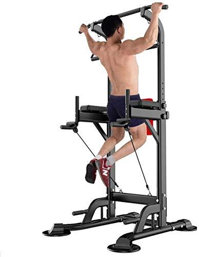 ARUMIN ぶら下がり健康器 懸垂マシン バージョンアップ 耐荷重150kg チンニングスタンド 懸垂器具 筋肉トレーニング ディップススタンド 多機能 背筋 腹筋 [メーカー1年保証]