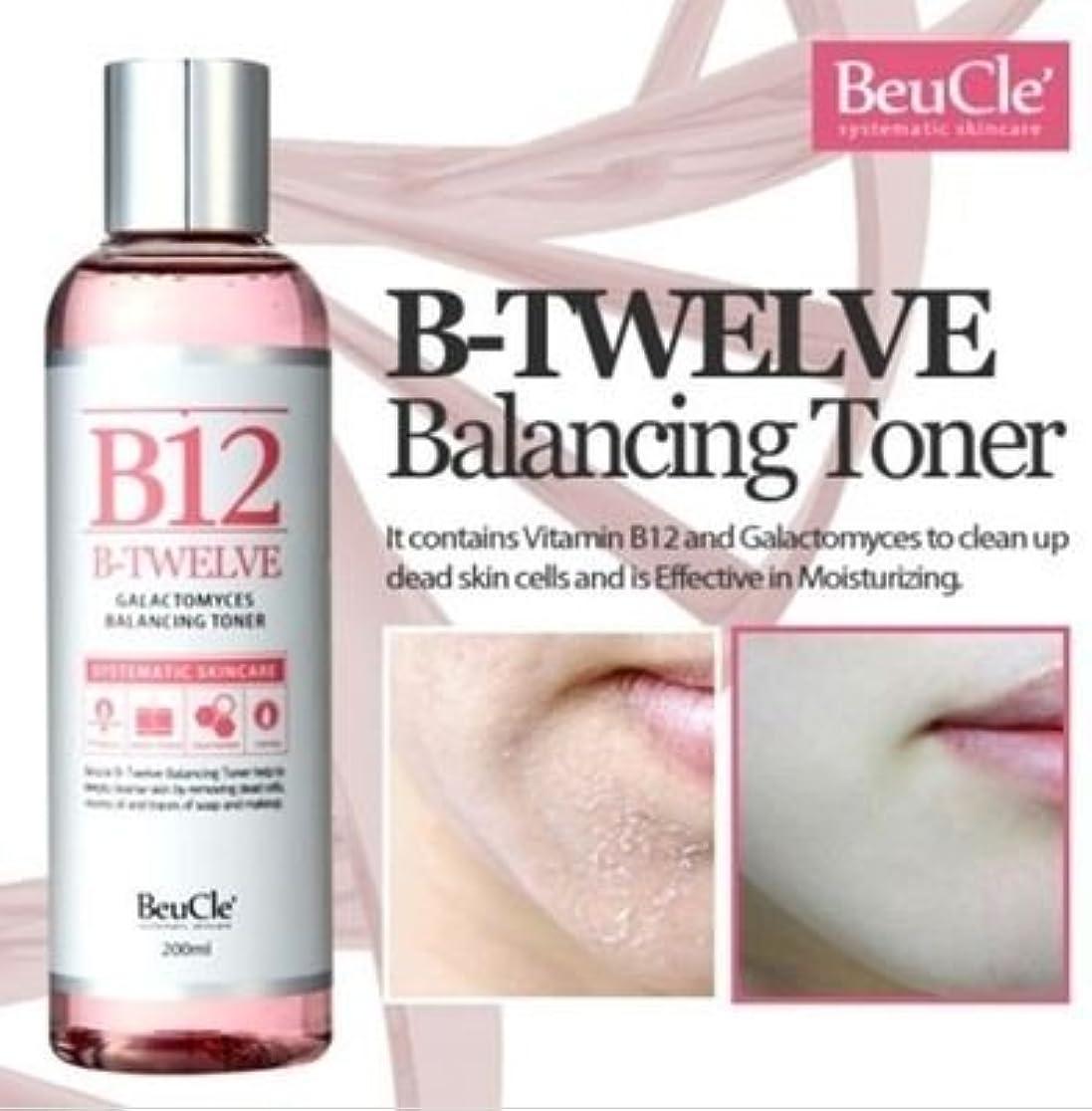 慈善掘るスイス人[ビュクレ] BeuCle' [B12ガラクトミセスバランシングトナー]B12 Galactomyces Balancing Toner] 敏感肌でもOK角質拭き取り化粧水 [並行輸入品]