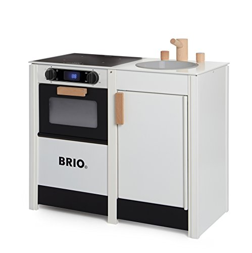 BRIO 31360 - Set Cucina Giocattolo con fornelli e lavandino