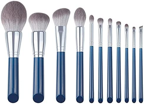 Popular shop is the lowest price challenge Make Up Brushes overseas 11Pcs Azure Eyeshadow Set Powder Makeup