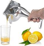 Stainless Steel Manual Juicer,T.face Fruit Hand Squeezer,Heavy Duty Lemon Orange Juicer,Single Press Lemon Squeezer,Manual Citrus Press Juicer, Lemon Lime juice, orange juice, apple juice