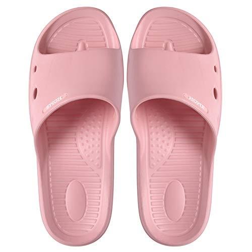 Huabei2 Sandalen Slides Strand Flip Flops Pool Slides Fash rutschfeste Hausschuh for Schwangere und ältere Frauen im Sommer Home Indoor Badezimmer Badewanne Leakage Slipper (Color : B, Size : XXL)
