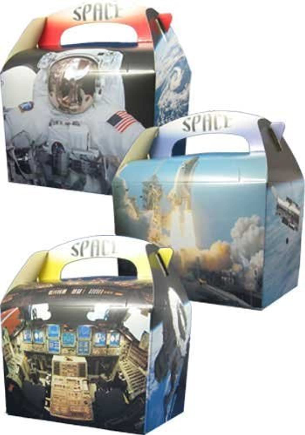 Astronaut Rocket Space Odyssey Party Boxes x 5 by Space Blast
