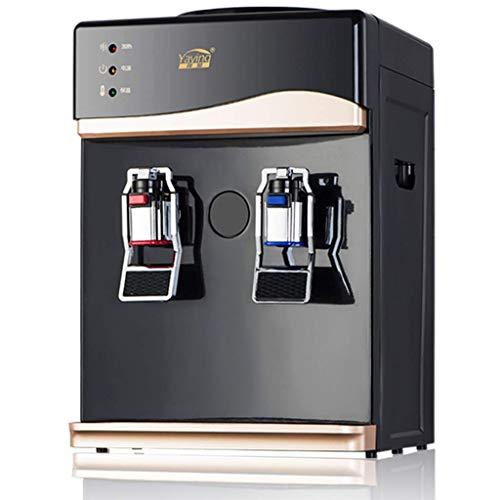 lqgpsx 27x26x38cm Wasserspender Wasserkühler Wasserkocher Trinkwasserspender Büro / 220V Kühlung/Heizung Kunststoff Wasserspender Wasserspender Trinkwasserspender (Farbe: warm)