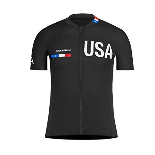 Uglyfrog Maillot Ciclismo Hombre Ropa Camiseta Bicicleta MTB con Mangas Cortas