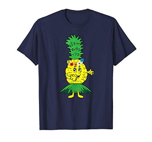 Hawaii Pineapple Hula Dance | Cool Polynesian Gift T-Shirt