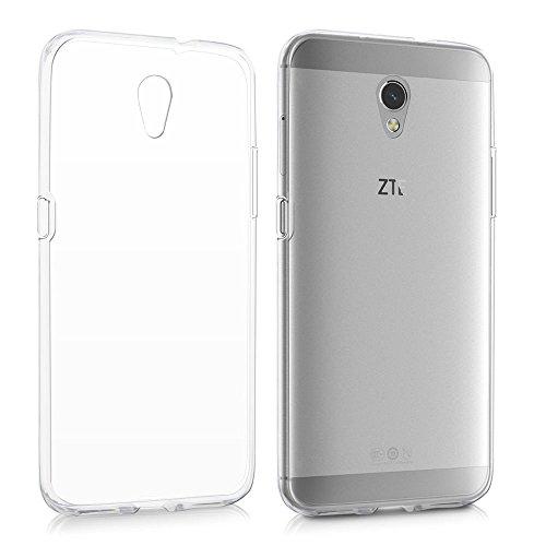 REY Funda Carcasa Gel Transparente para ZTE Blade V7, Ultra Fina 0,33mm, Silicona TPU de Alta Resistencia y Flexibilidad