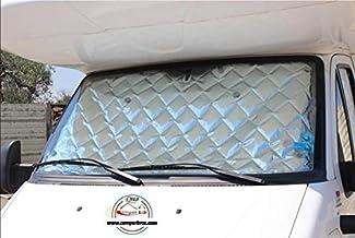 CamperBros - Oscurecedor Termico Interior para Cabina - 3 Piezas 9 Capas - Camper Renault Master 2010-2018