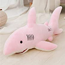 EXTOY 50Cm-130Cm Giant Plush Sharks Toys Stuffed Animals Simulation Fish Doll Pillows Cushion Kids Toys for Children Birthday Gifts Must Have Tools My Favourite Toddler Superhero