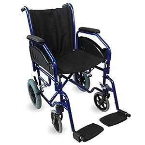 Mobiclinic, Modelo Maestranza, Silla de ruedas ortopédica, Plegable,