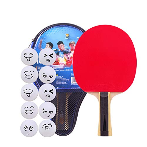 Lowest Prices! Hewen-Ping Pong Set Table Tennis Racket Student Children Beginner Entertainment Table...