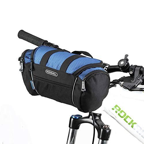 Bolsa Bicicleta MontañA Bolsas para Bicicletas Teléfono de la Bicicleta Montaje DE LA Bicicleta Accesorios Ciclismo Accesorios Blue,Free Size