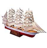 XIUYU Puzzle Papier modèle Jouets, 1/300 échelle Japonaise Maru Clipper Sailing Enfants Jouets et Cadeaux, 10inch