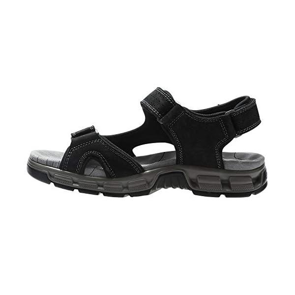 CAMEL CROWN Men Leather Sandals Open Toe for Outdoor Hiking Walking Beach Sports Fisherman Strap Sandal | Summer Waterproof