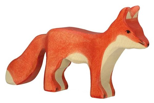 Holztiger Fuchs, stehend, 80095