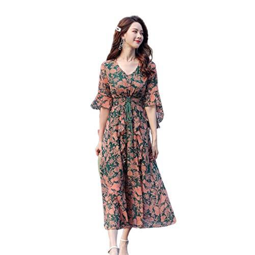 Goods-Store-uk - Vestido floral de primavera y verano
