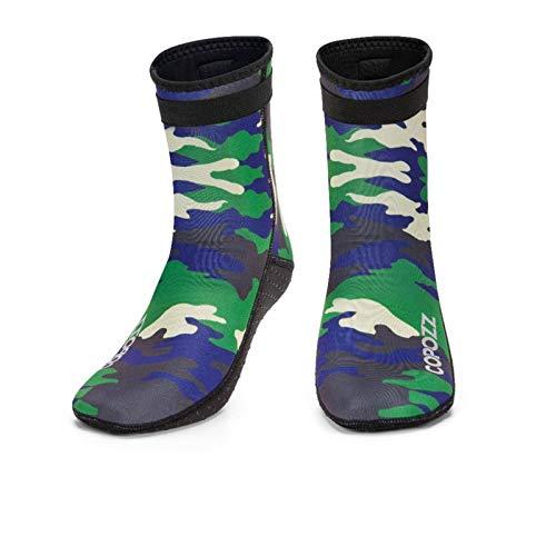 N-B Calcetines de buceo Botas de agua 3mm Neopreno antideslizante Playa Caliente Traje de neopreno Zapatos de buceo Surf Natación Calcetines Hombres Y Mujeres