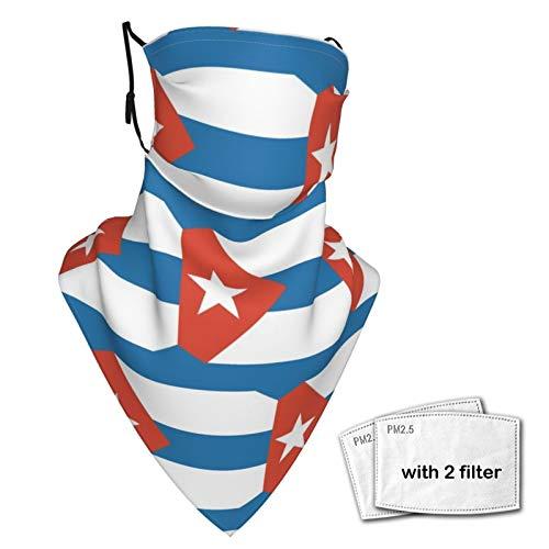 SD3DPrint - Passamontagna unisex con bandiera Cuba