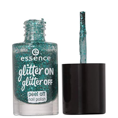 Essence, Nagelfüllung (Glitter on glitter peel off 6) - 1 Stück