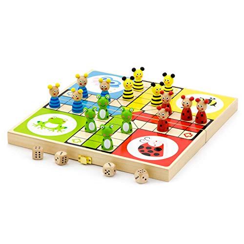 Viga Toys - 50064 - Jeu De Plateau - Jeux De Petits Chevaux