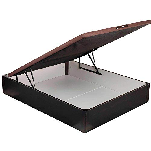 Canapé Abatible Pikolin 3D Madera - Wengue, 135x190cm