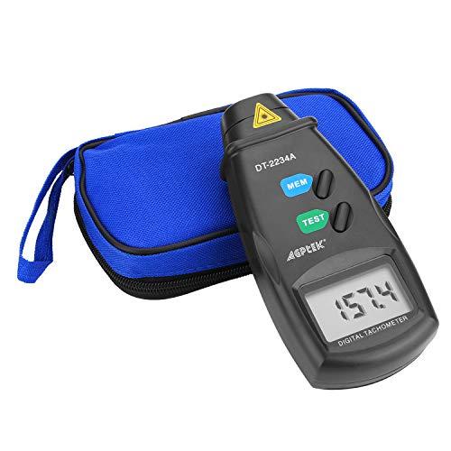 FITNATE Digital Tachometer RPM Meter