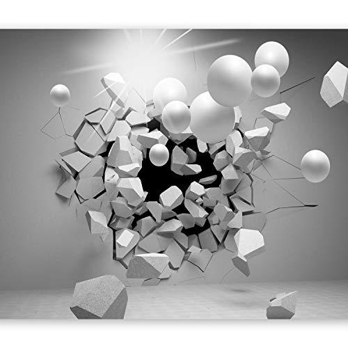 murando Papier peint intissé 250x175 cm Décoration Murale XXL Poster Tableaux Muraux Tapisserie Photo Trompe l'oeil Abstraction Sphere 3D a-C-0002-a-d