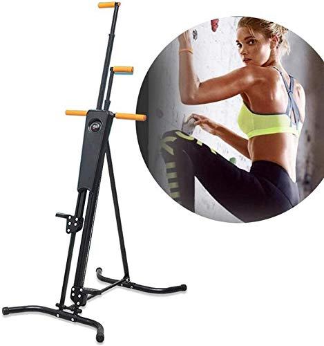 Máquinas de fitness de paso vertical Máquina de escalada plegable: para el entrenamiento total de la aleación de acero al cuerpo: carga máxima de la carga de 160 kg-para la oficina interior de la casa