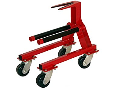 Sternmaster Marine Tools Single Outdrive/Lower Unit Rolling Service Cart fits I/O and Outboard Lower Units, Made in The USA