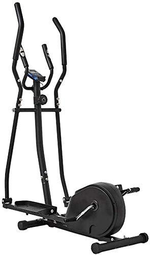 Wghz Máquina elíptica, Bicicleta estática-Fitness Máquina de Entrenamiento de pérdida de Peso Cardiovascular, Gimnasio Equipo de Fitness portátil pequeño Ultra silencioso para el hogar