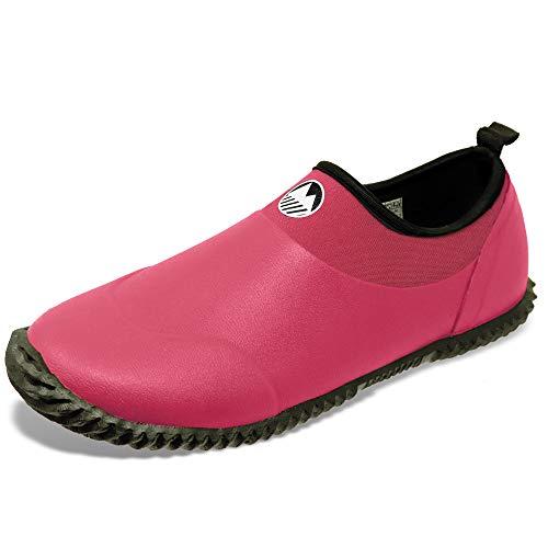 Lakeland Active Women's Grasmere Multipurpose Waterproof Muck Shoes - Pink - 3 UK