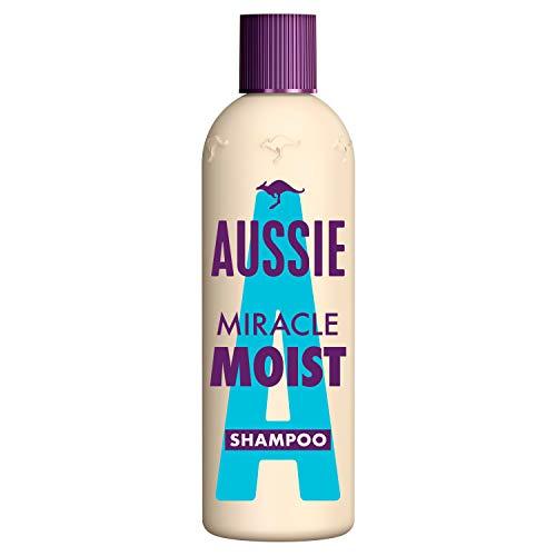 Aussie Miracle Moist Shampoo Für Trockenes Haar, 300 ml, Mit Macadamianussöl, Haarpflege Trockenes Haar, Haarpflege Für Trockene Haare, Shampoo Damen, Tierversuchsfrei, Haarpflege, Tierversuchsfrei