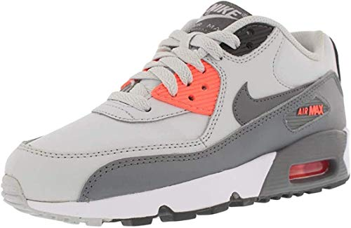 Nike 833376 006 Air Max 90 Leather (GS) Sneaker Hellgrau|38