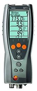 testo 327-1- Analizador de gases de combustión, set estándar
