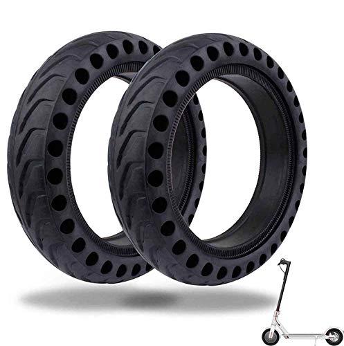 EWheel |Kit de 2 pcs Ruedas Macizas 8,5 Pulgadas Xiaomi M365 y Pro | Scooter Eléctrico |Reemplazo Repuesto Neumático Patinete (2)