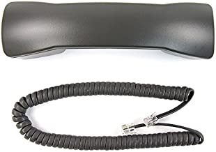 The VoIP Lounge Gray Handset with 9 Foot Cord for Avaya Lucent Definity 6400 Series Phone 6402 6402D 6408 6408D+ 6416D+ 6416D+M 6424D+ 6424D+M