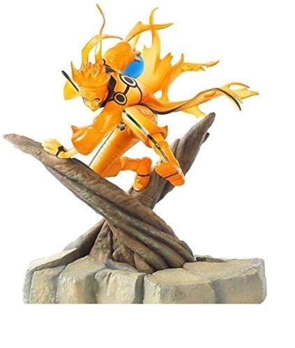 LJXGZY Regalo Naruto Shippuden: Uzumaki Naruto Figura de accion Coleccion Decoracion Modelo Regalo de cumpleanos Estatua