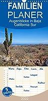 Augenblicke in Baja California Sur - Familienplaner hoch (Wandkalender 2022 , 21 cm x 45 cm, hoch): Ausblicke auf Landschaften im sonnigsten Mexiko (Monatskalender, 14 Seiten )