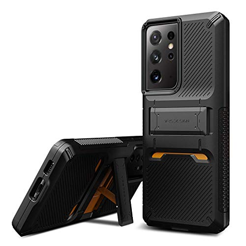 VRS DESIGN Damda QuickStand Pro Case Compatible with Galaxy S21 Ultra 6.8 inch (2021)