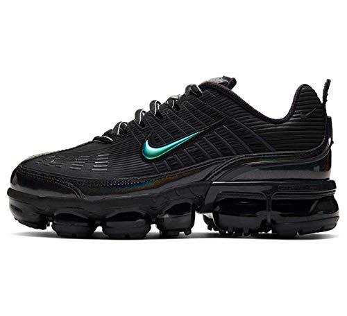 Nike W Air Vapormax 360, Scarpe da Corsa Donna, Black/Black-Anthracite-Black-Mtlc Dk Grey-Black, 38 EU