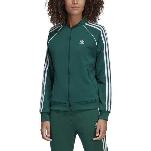 Adidas Originals Super Star - Giacca da donna, Donna, Collegiate Green, X-Small