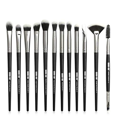 Make-up kwasten set professioneel 12 stks/partij Make-up kwasten Oogschaduw Blending Eyeliner Wimper wenkbrauw kwast make-up tool, zoals de foto laat zien