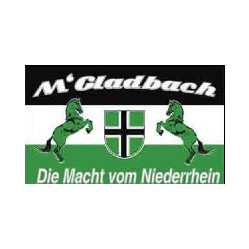 Mönchengladbach - Die Macht vom Niederrhein Fahne (F17)